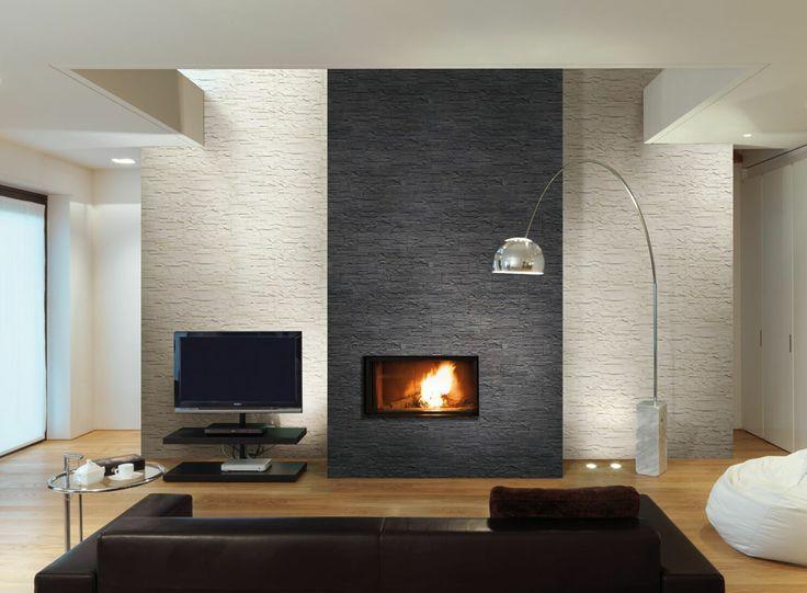 Tiled Fireplace Wall Fireplace Tile Fireplace Feature Wall Fireplace Wall