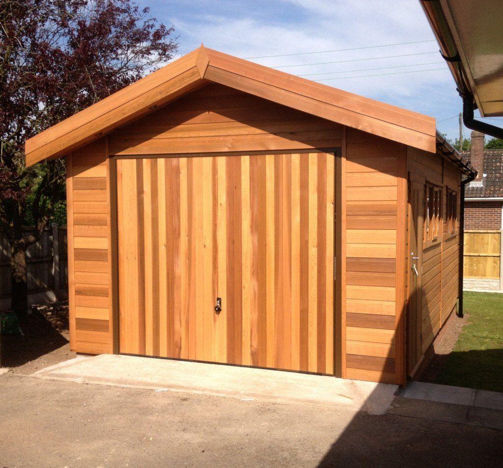 Pin on Wooden garage