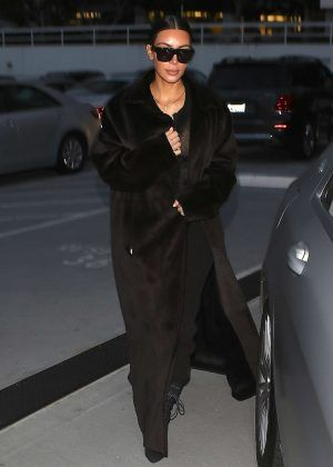 Kim Kardashian Leaves Bandera Restaurant in LA