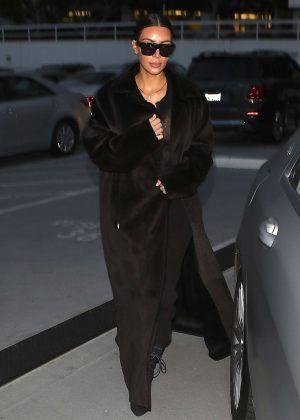Kim Kardashian Leaves Bandera Restaurant in LA