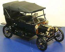 Franklin Mint Precision 1913 Ford Model T 4 Door Convertible