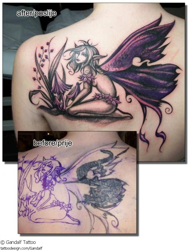 fairy wing tattoos tattoo design picture by gandalf tattoo fantasy fairy fairies wing. Black Bedroom Furniture Sets. Home Design Ideas