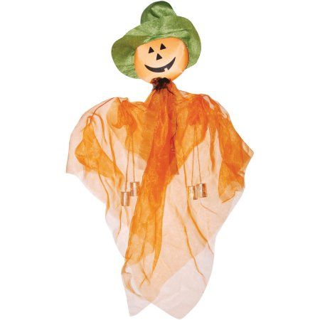 Scarecrow Hanging Halloween Decoration, Multicolor Scarecrows