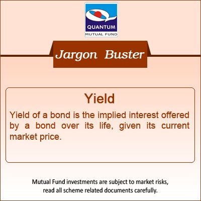 Know what's Yield! #Bonds