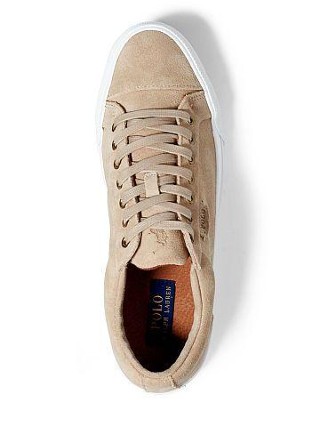 zebra Abrasive organ  Geffrey Suede Low-Top Sneaker - Polo Ralph Lauren Sneakers - RalphLauren.com  | Sneakers, Ralph lauren sneakers, Top sneakers