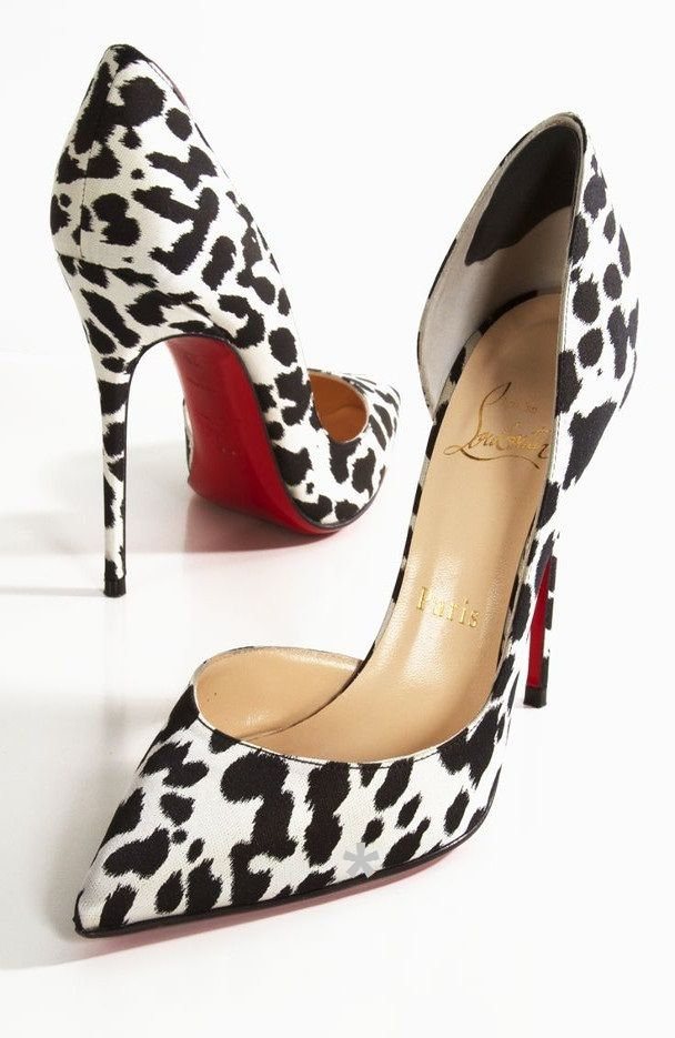 c10180160140 Emmy DE   Christian Louboutin Iriza Printed d Orsay Pumps