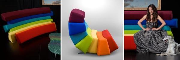 #Möbel Kreatives Sofa Design In Form Einer Wolke Von Dizajno #Kreatives  #Sofa #