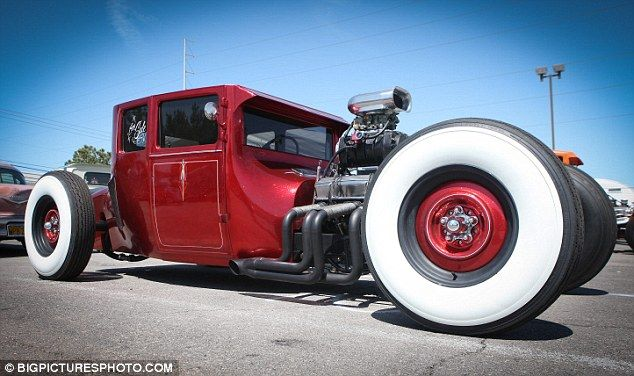 Adams Family Style Souped Up Ford Model A Models Hot