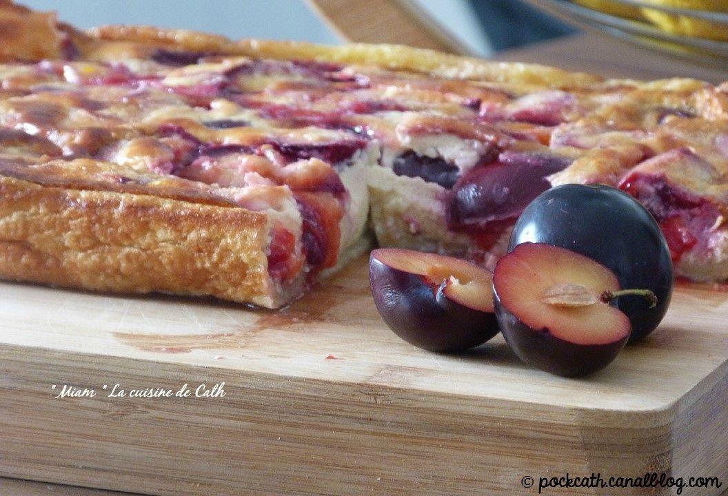Far aux prunes   Recette, Recette far, Dessert diététique