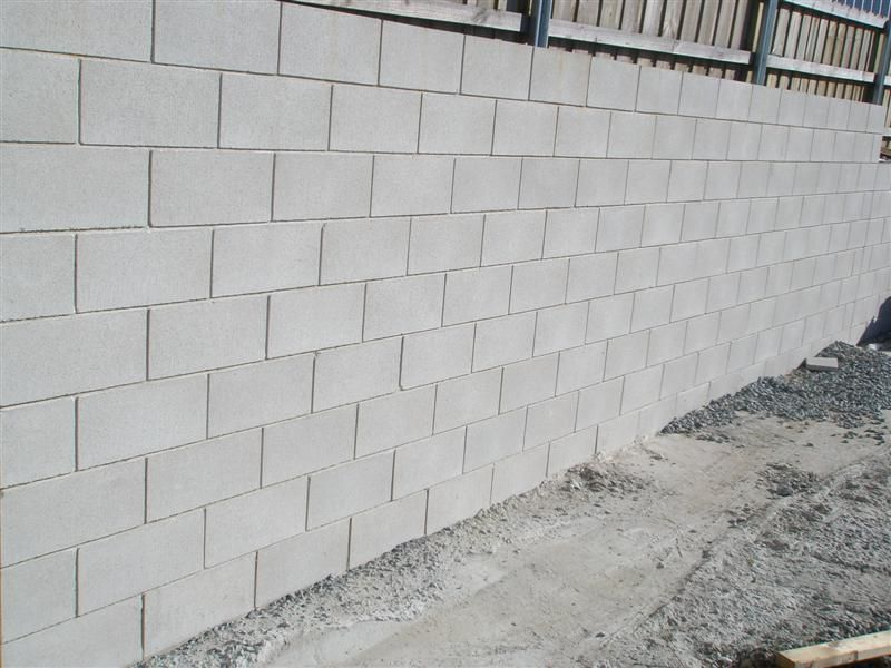 Tips Cinder Block Retaining Wall