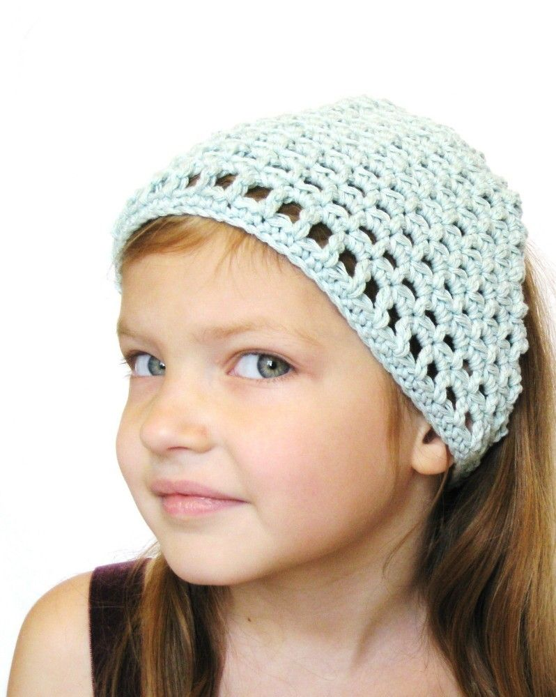 Hair kerchief crochet bandana for women eca142ec6ff