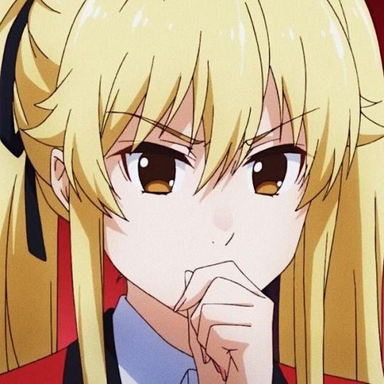 Kakegurui Mary Saotome Tumblr In 2020 Anime Cute Anime Character Aesthetic Anime