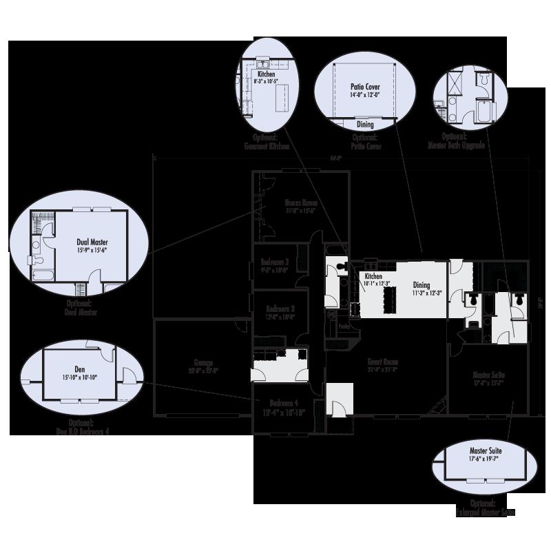 the st helens custom floor plan adair homes - Custom Floor Plans