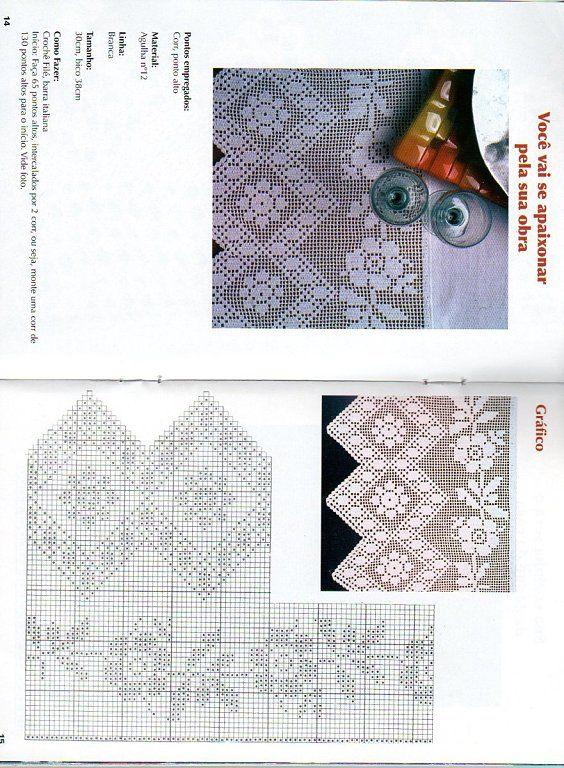 Crochet sólo con paso a paso o video | Ganchillo, Cortinas y Cenefas