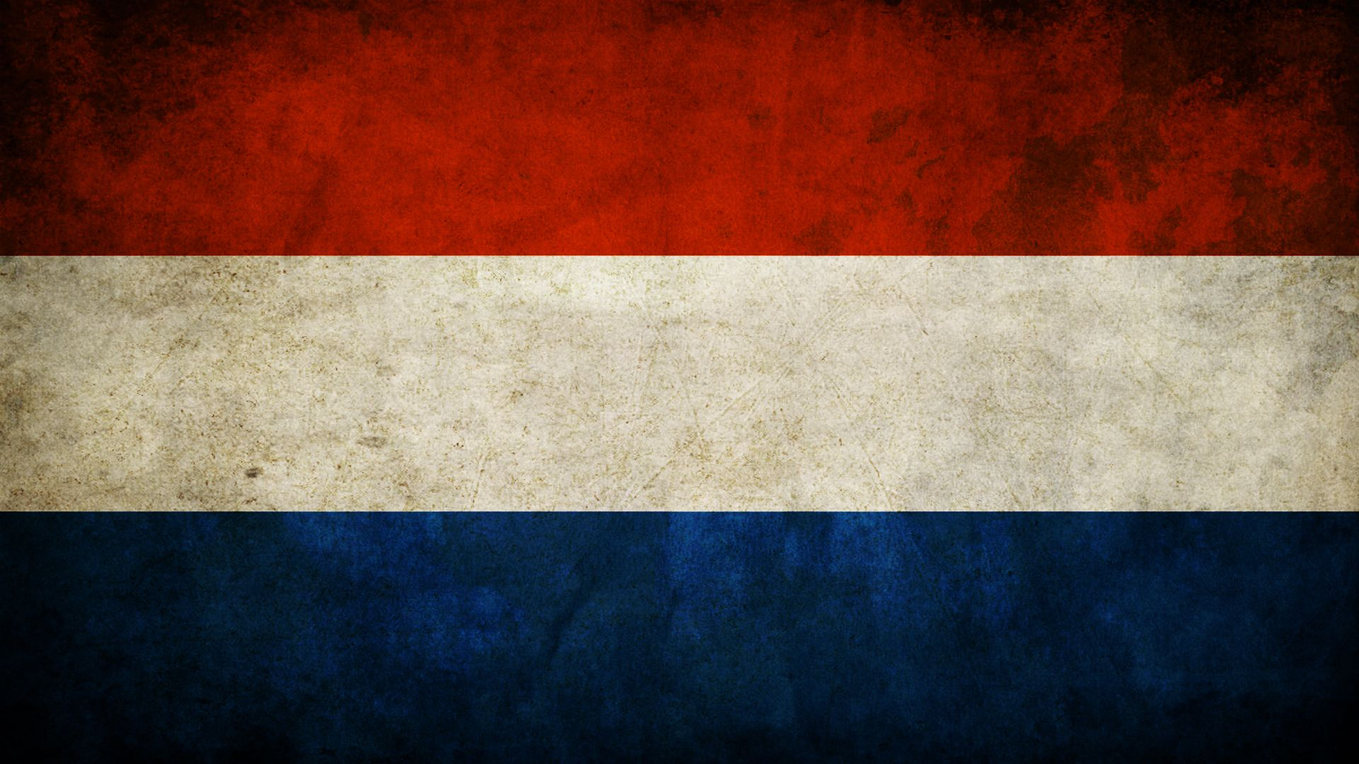 Dutch Flag With Nl Underneath Belanda Gambar Dinding Gambar