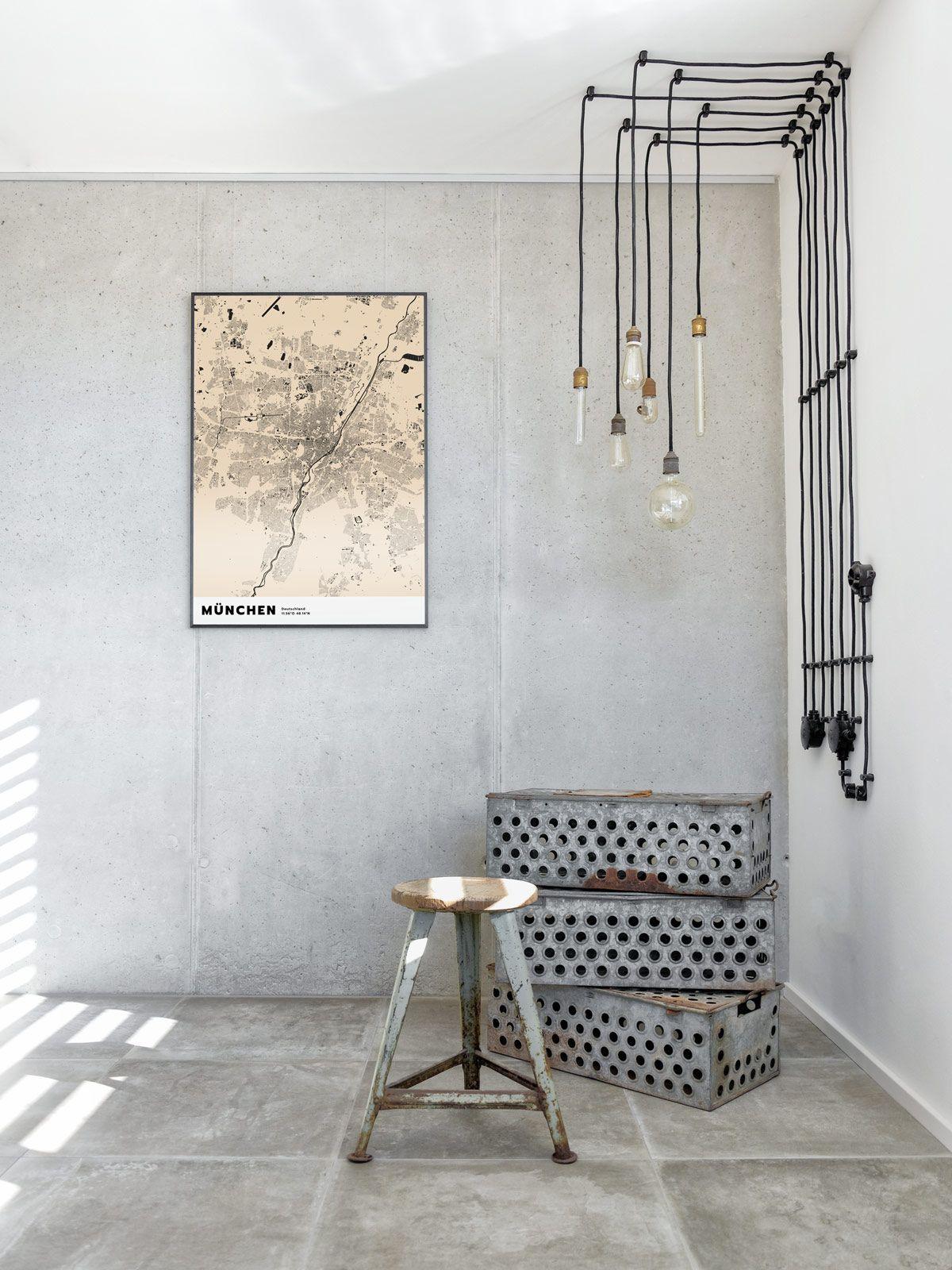 Dekoration mx living dekoration dekoration w nde und wandgestaltung - Industrial style deko ...