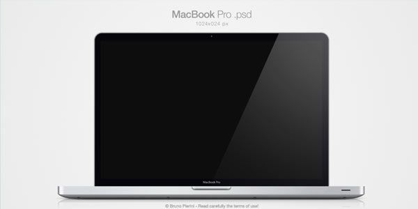 Computer and TV LCD-LED Display Templates [PSD] MacBook Pro .psd ...