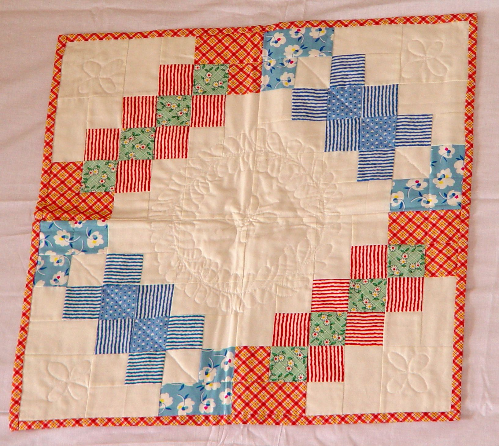 Custom baby quilt with a vintage look.   quilts   Pinterest   Baby ... : custom baby quilts - Adamdwight.com