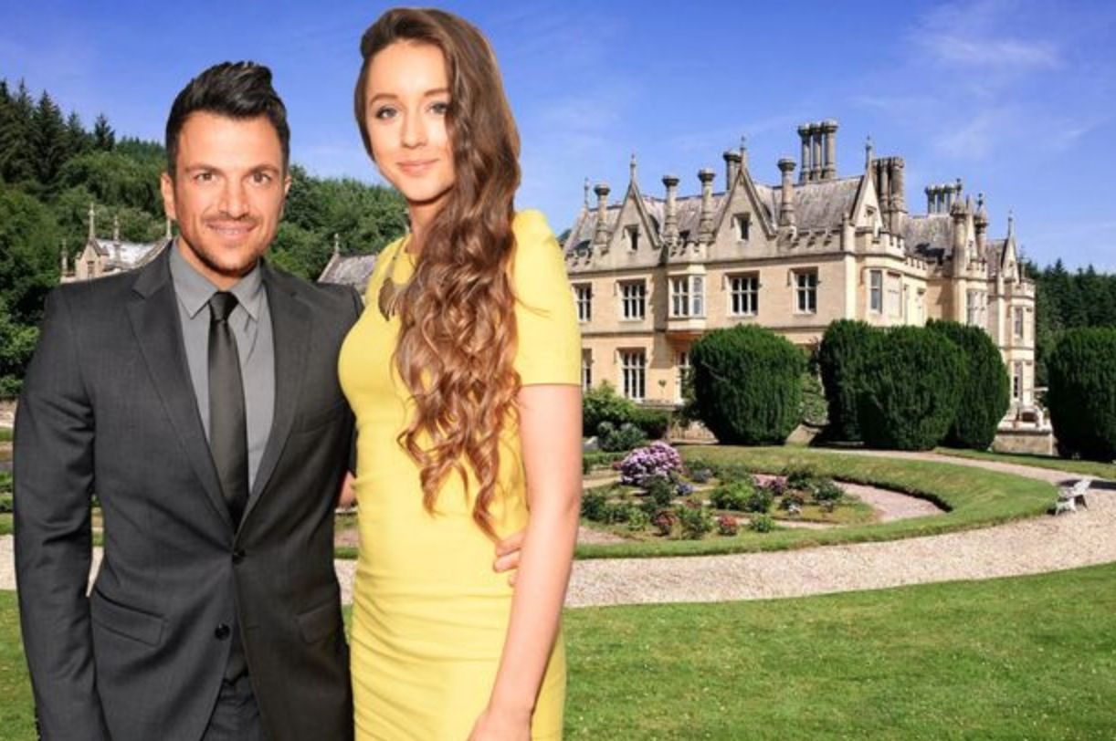 Peter Andre Emily Wedding Bridal Celebritywedding
