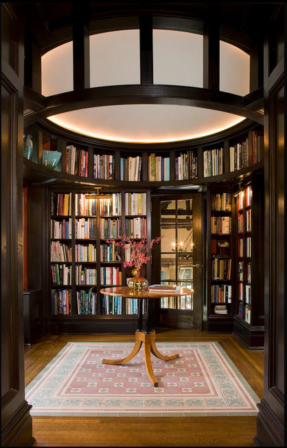 dream home libraries: the room that extends beyond four walls