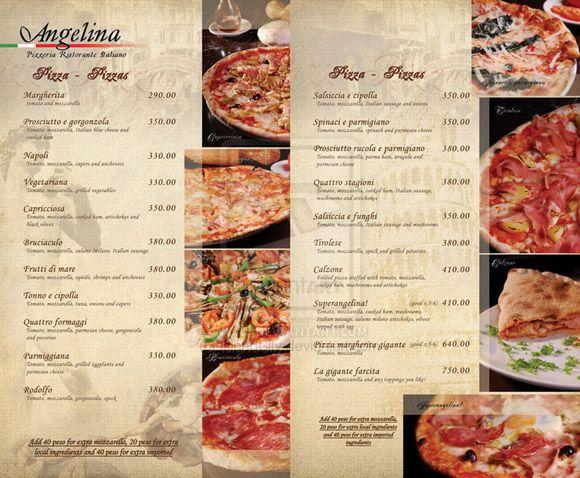 Ideas Diseo Cartas Menus Restaurantes Ejemplos Minutas