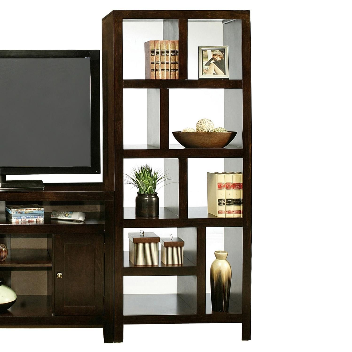 Del mar room divider tower by golden oak by whalen