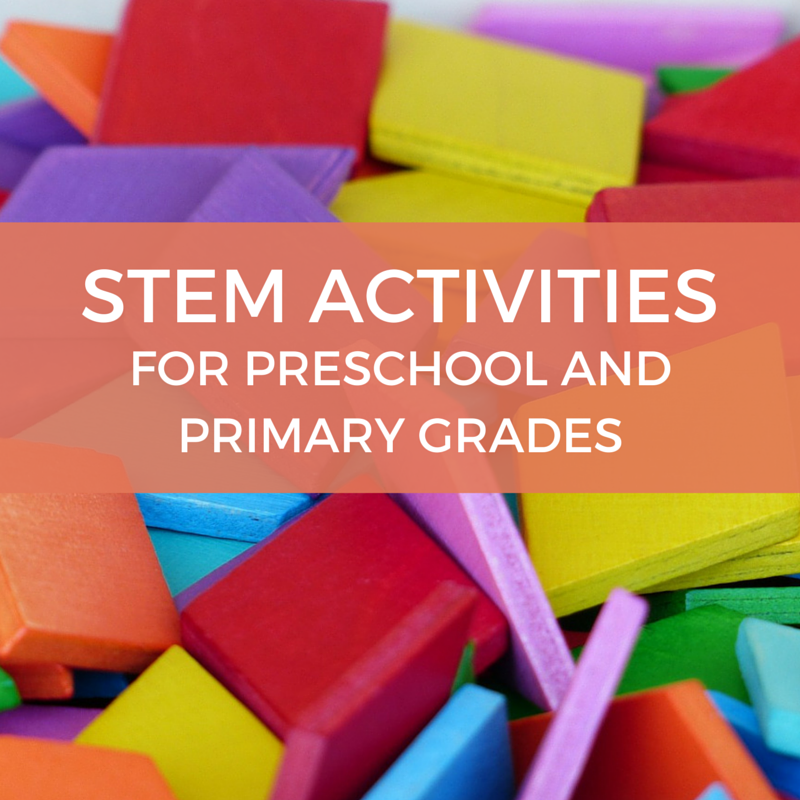 Stem Lessons Preschool & Primary Grades Hands