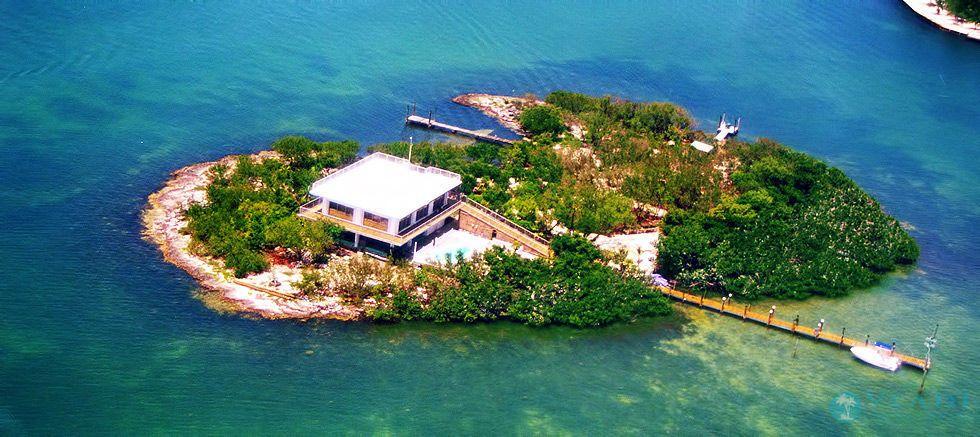 Uninhabited Florida Keys Islands