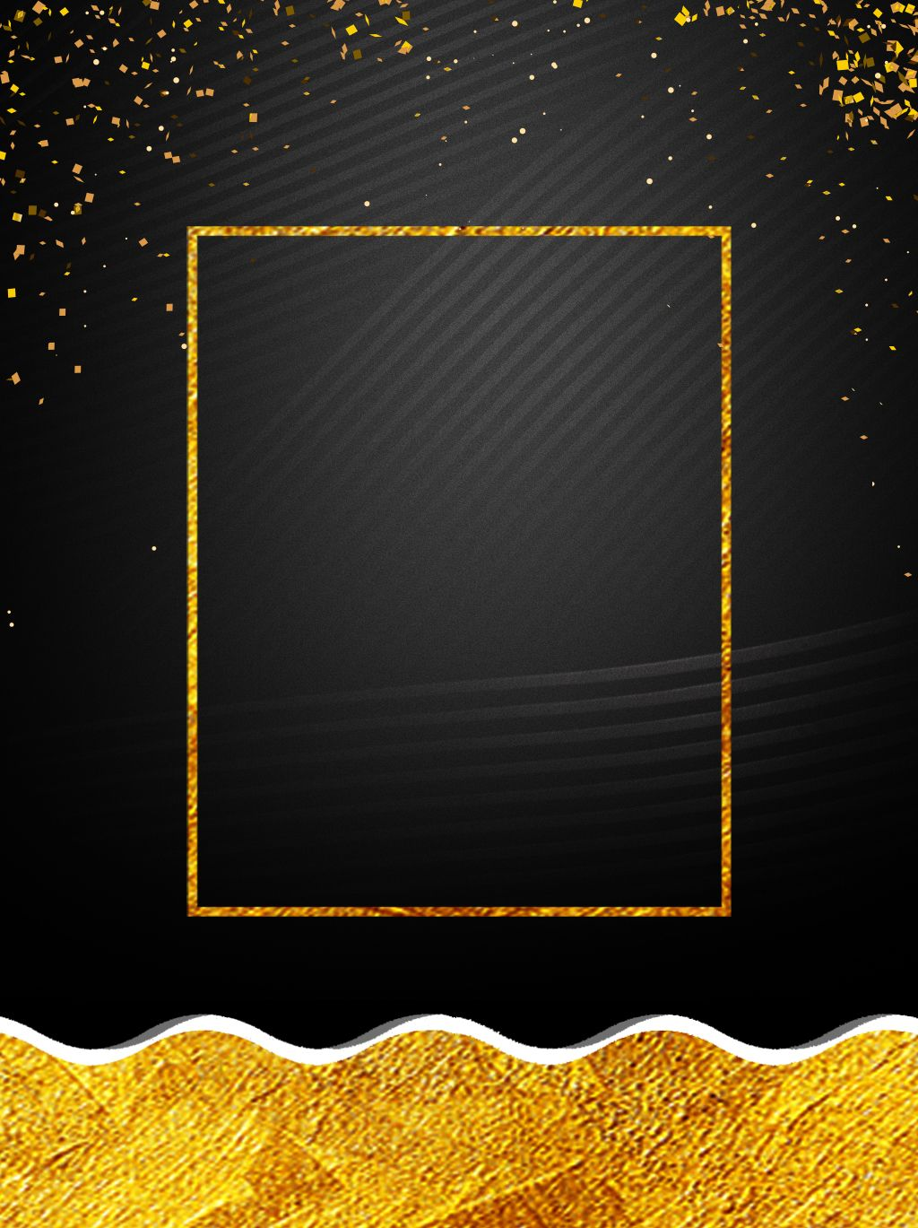 Kreatives Plakathintergrunddesign Des Schwarzen Goldwindes Kreative Plakate Hintergrund Design Poster Design