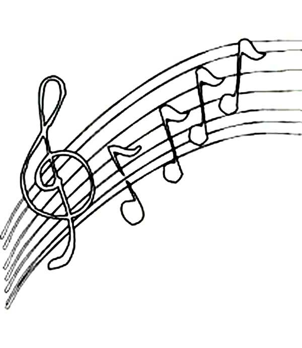 Upside Down Music Notes Coloring Page Kids Play Color Music Coloring Coloring Pages Music Notes