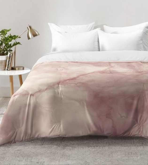 Amazing 40+ Blush Bedroom Decor Rose Gold_9 Pictures Gallery