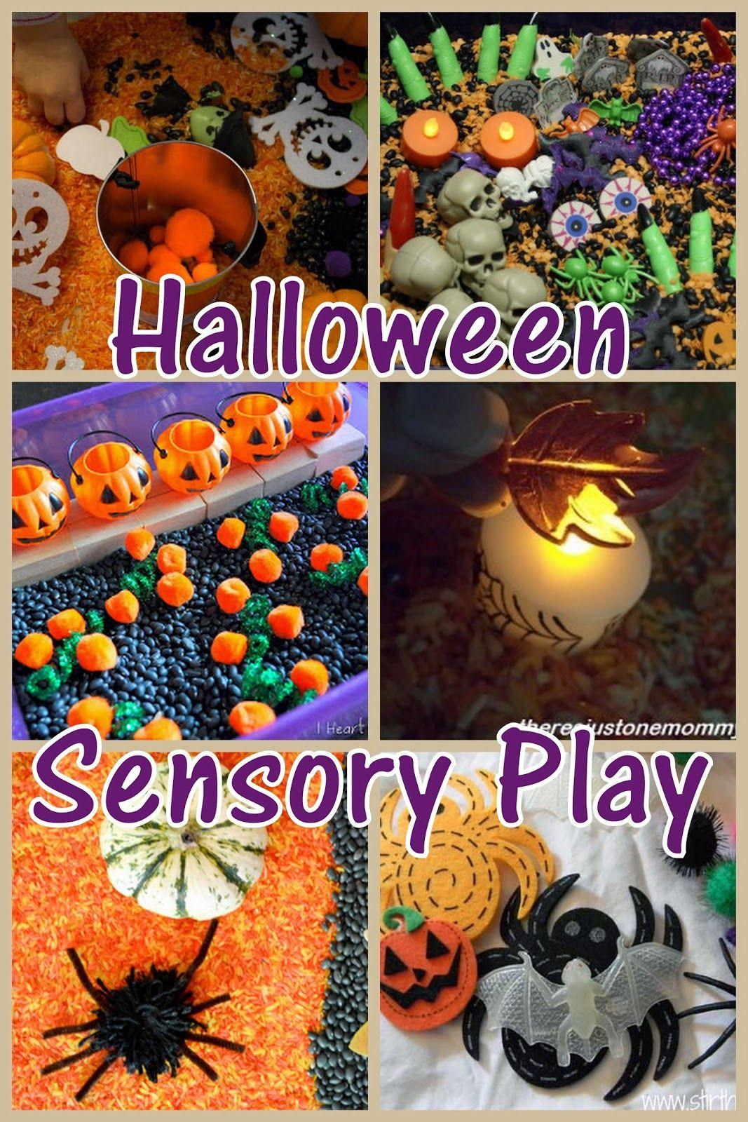 15 Fun Halloween Sensory Bins