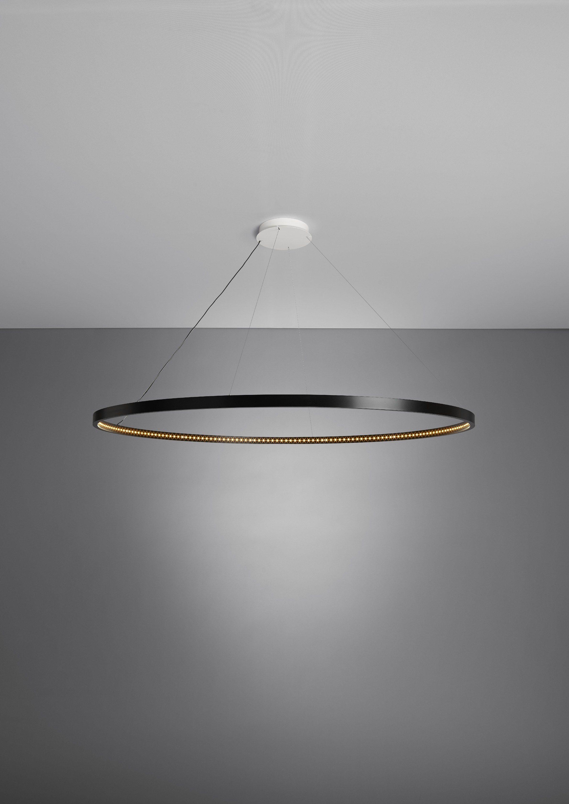 indirect lighting design. LED Direct-indirect Light Pendant Lamp OMEGA 120 - Le Deun Luminaires Indirect Lighting Design E