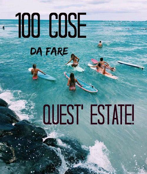 100 cose da fare quest'estate sul mio blog!