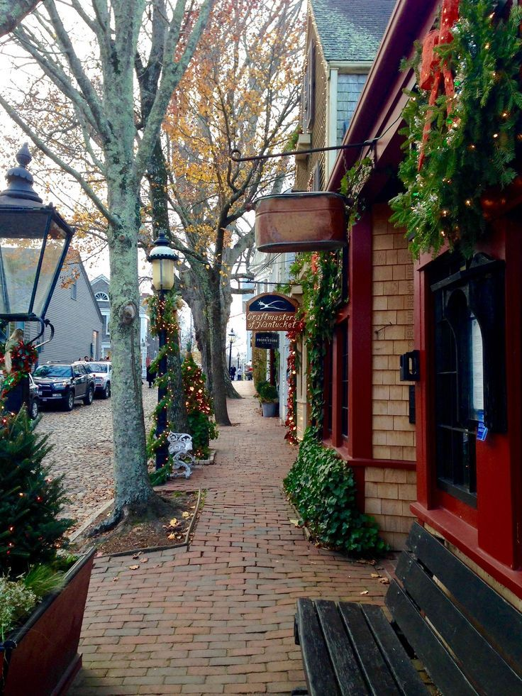 Christmas in Nantucket Nantucket, Christmas in england