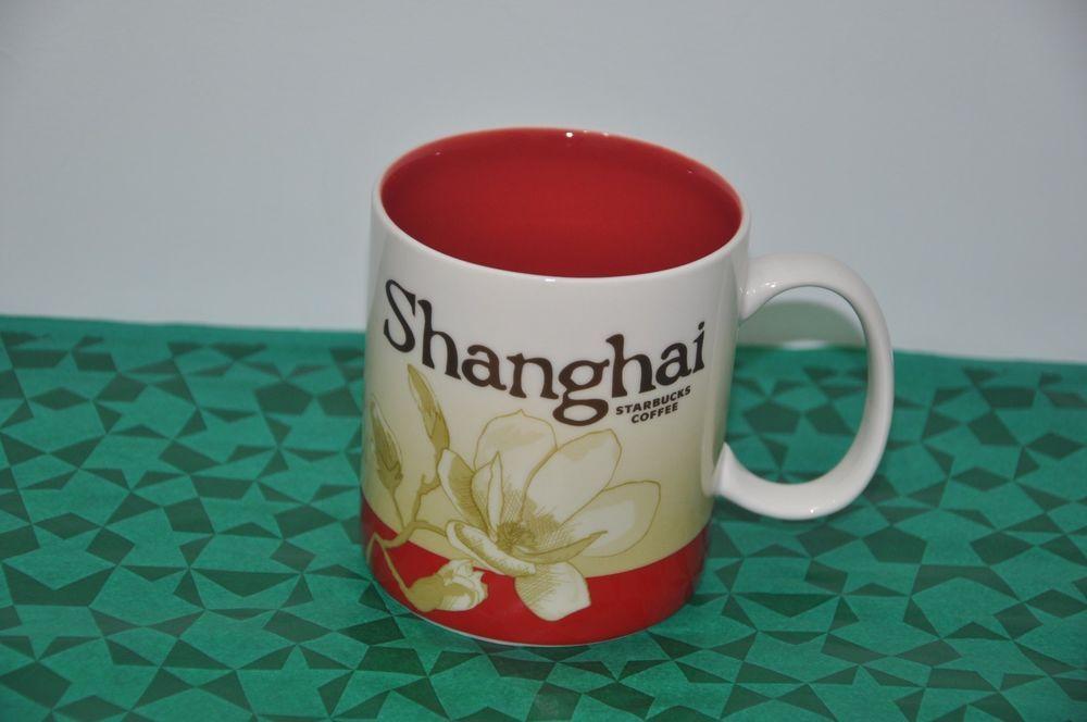 Coffee Mug New Sku Icon Starbucks Shanghai Brand City 16oz W China vwymnPN08O