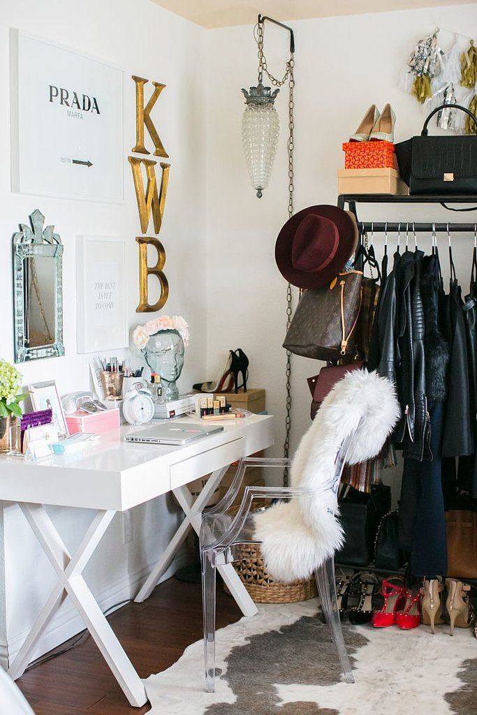Closet Desks how this southern belle decked out her california home | house