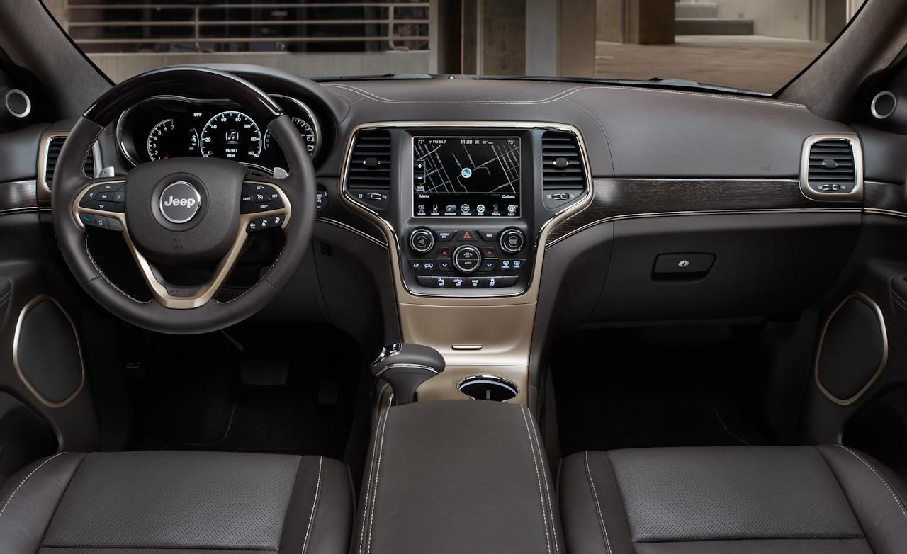 Jeep Grand Cherokee Interior 2014 Jeep Grand Cherokee Summit
