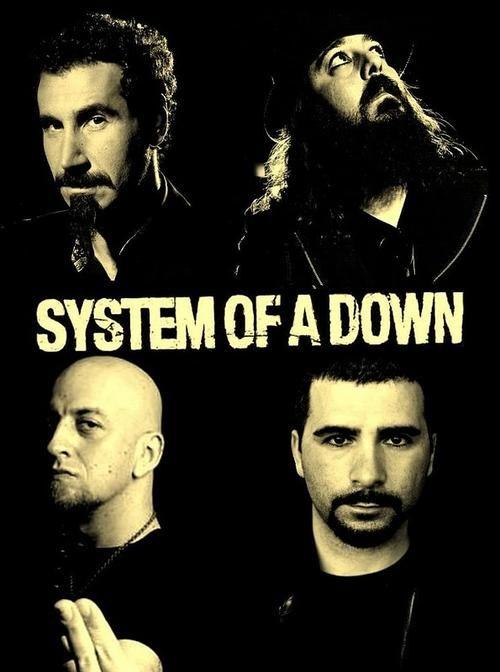 System Of A Down Com Imagens Bandas De Rock Cantores Musica