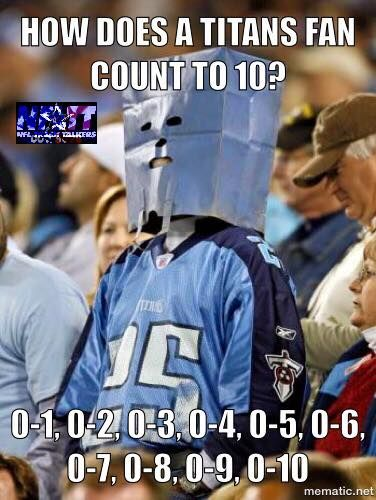 How A Titans fan counts to 10