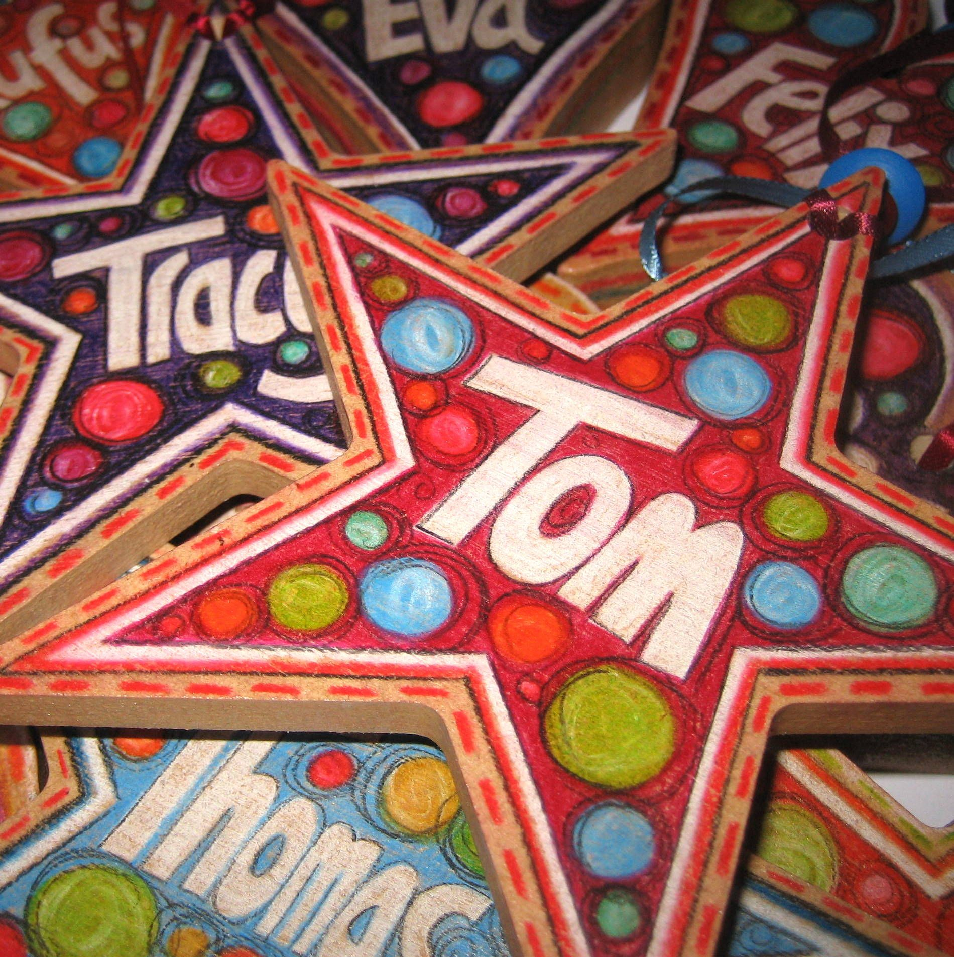 Cool crafts for youth ministry. i like the stars with