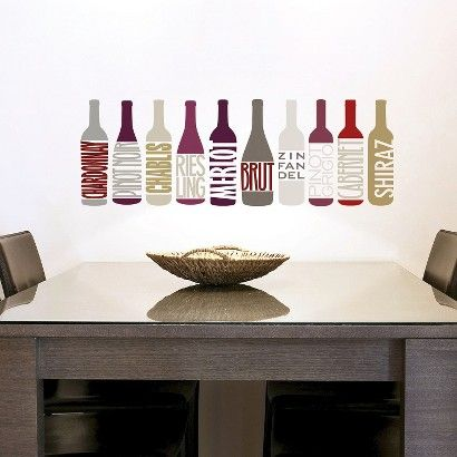 Wine Wall Decals From Target Crafts Pinterest Wine Wall - Vinyl wall decals at targetwall decor stickers target