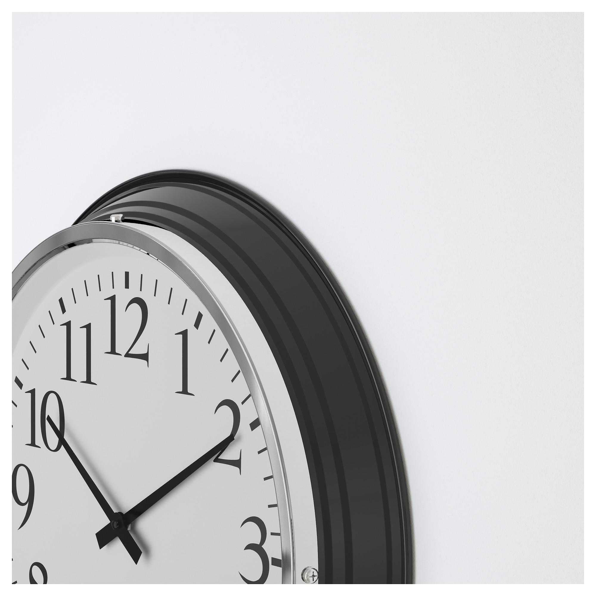 BRAVUR Wall clock Black | Wall clocks, Clocks and Walls