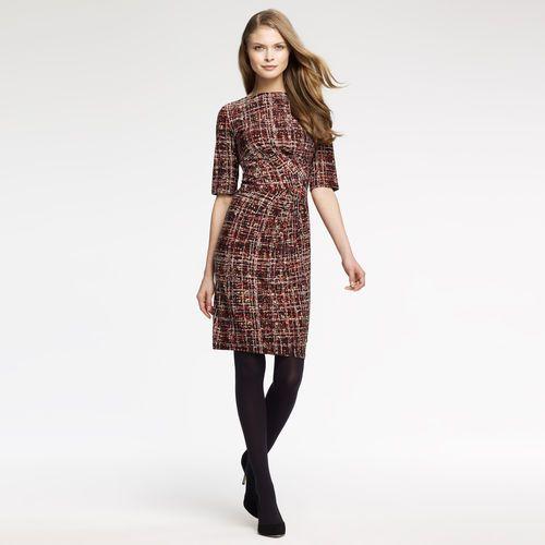 Anne Klein: Dresses > Work > Angle Drape Dress