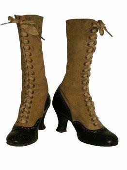 1900 1905 Chaussure ancienne chaussure vintage chaussure ... 5044504a632b