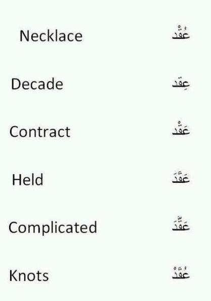 كملة واحدة أيضا بالعربية مع اختلاف تشكيل الحركات تواجه ٦ كلمات بالإنجليزية Arabic Language Learning Arabic Learn Arabic Language