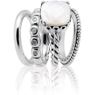 cdb854f9d09b7 wholesale mother of pearl pandora rings