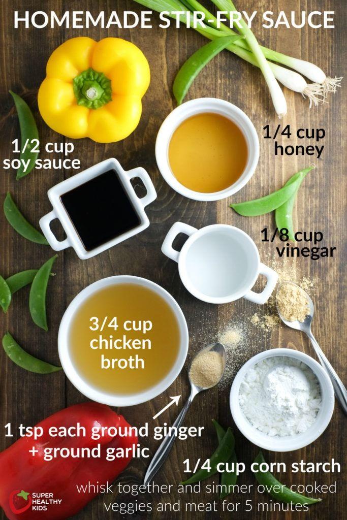 Our Go-To Homemade Stir-Fry Sauce Recipe