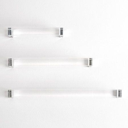 Modern Acrylic Lucite Towel Bar Clear In 2019 Modern Towel Bars Modern Bathroom Accessories