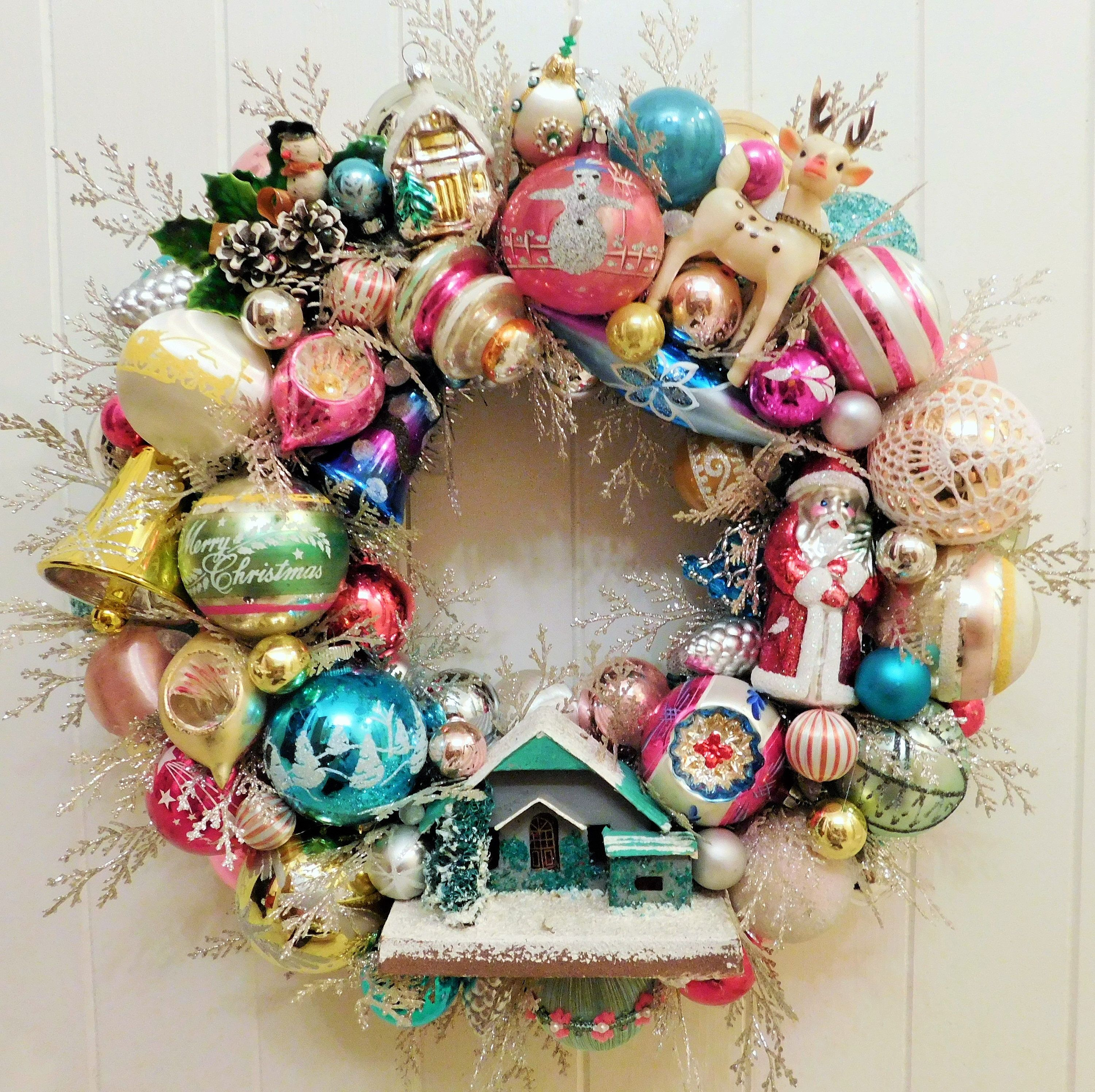 Discover Ideas About Housewarming Party Vintage Christmas Ornament Ball